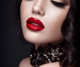 Beautiful make-up HD picture 01
