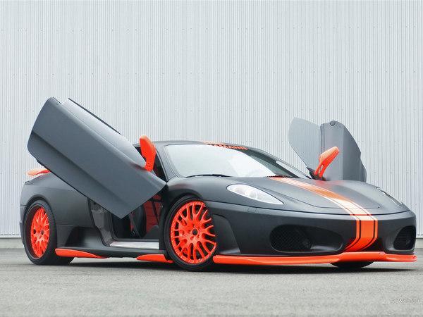 Nice Black Cool Sports Car Stock Photo Nice Look