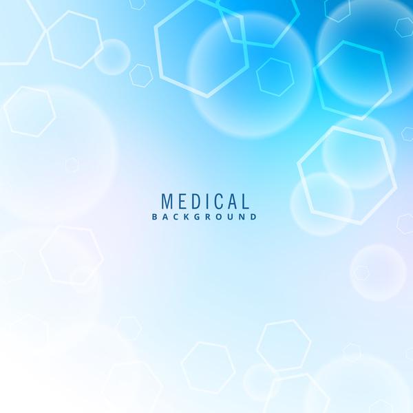 Blue medical background modern vector - Vector Background