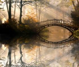 Bridges landscape Stock Photo