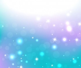 Bright stars light and halation background vector 05