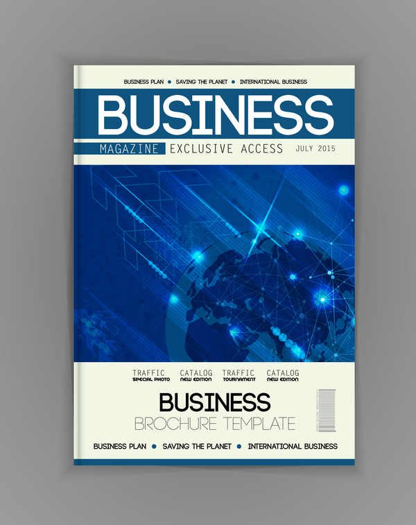 Business Brochure Template Cover Design Vector 10 Free Download
