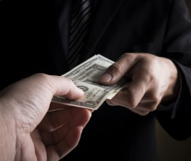Cash transactions Stock Photo 01