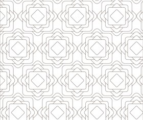 Classical seamless pattern creative vectors set 15