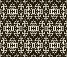Classical seamless pattern creative vectors set 19