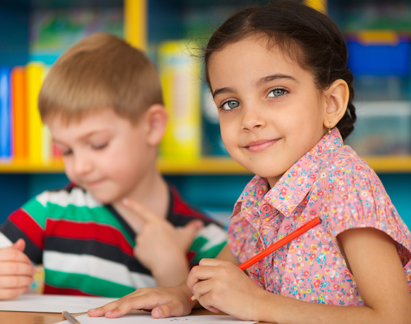 Classroom learning children HD picture 03 free download