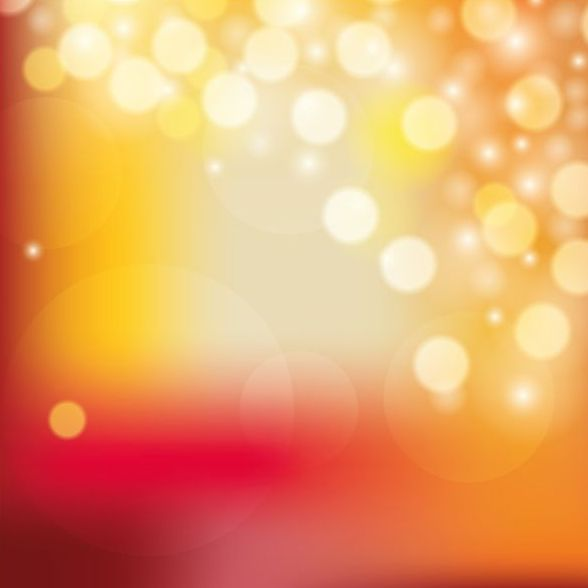 Colorful blurred background with halation effect vector 01