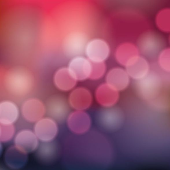 Colorful blurred background with halation effect vector 09