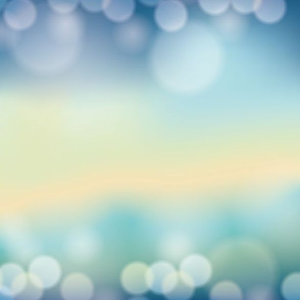 Colorful blurred background with halation effect vector 10