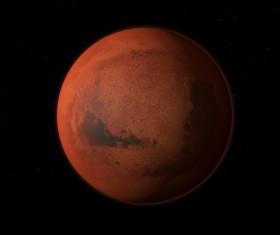 Desolate planet Stock Photo 01