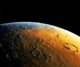 Desolate planet Stock Photo 02