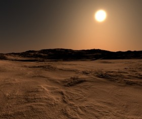 Desolate planet Stock Photo 03