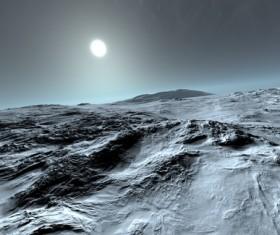 Desolate planet Stock Photo 04