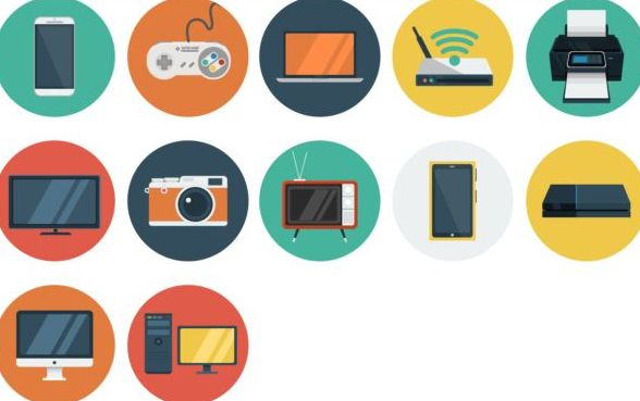 Devices vintage icons