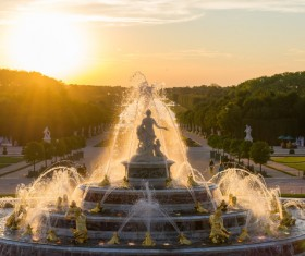 Famous fountains around the world Stock Photo 06