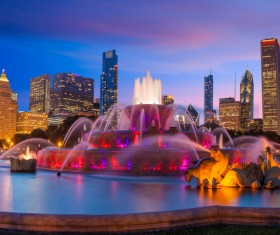 Famous fountains around the world Stock Photo 11