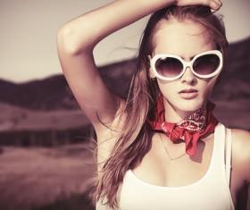 Fashion European girl HD picture
