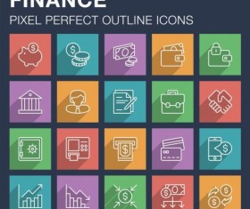 Finance outline icon