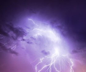 Flash of lightning HD picture 01