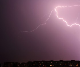 Flash of lightning HD picture 02