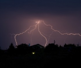 Flash of lightning HD picture 08