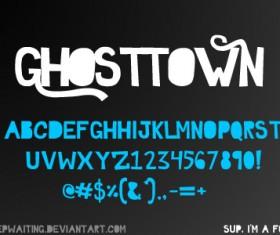 GHOSTTOWN Font