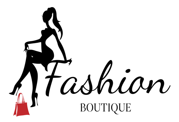 Girl with fashion boutique illustration vector 03