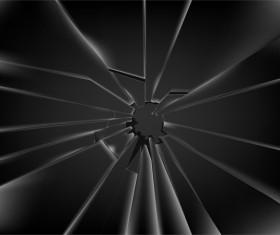 Glass broken background illustration vector 01