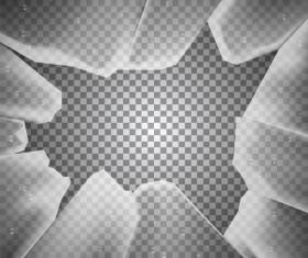 Glass broken background illustration vector 03