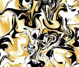 Golden with black marble textured background vector 03