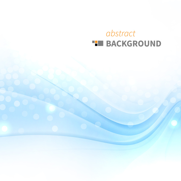 Halation Background With Abstract Blue Wave Vector Free Download