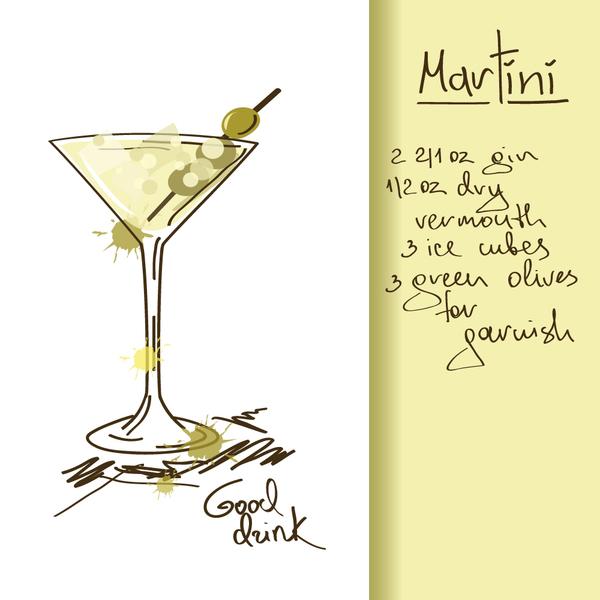 Hand drawn drank poster vectors 04