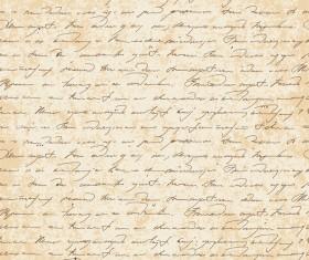 Handwriting vintage background vector