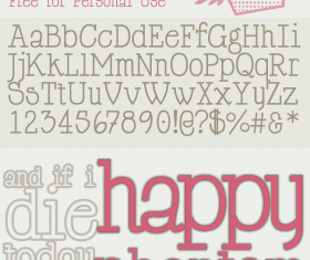 Happy Phantom Font