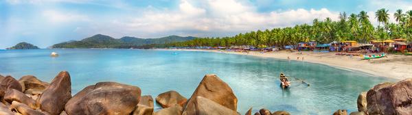 India Goa Palolem beach HD picture 01
