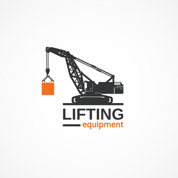 lifting equipment logo design vectors free download rh freedesignfile com equipment log sheet template equipment log book