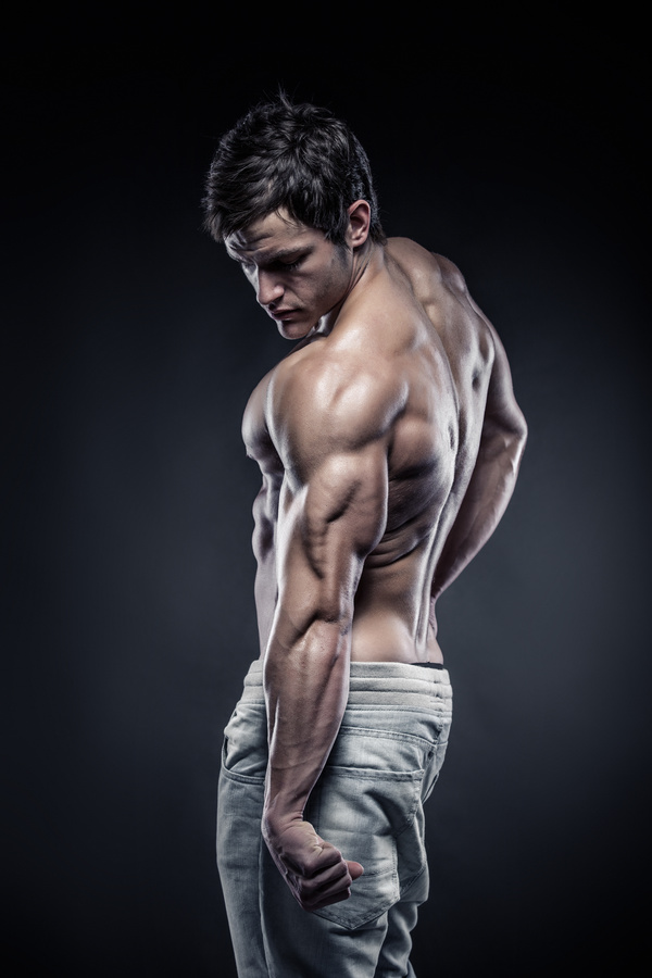 man with muscles and fitness hd picture 04 free download