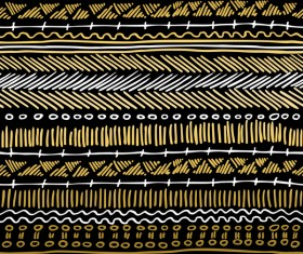 Memphis pattern gold seamless pattern vector 01