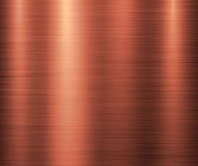 Metal copper background vector 04