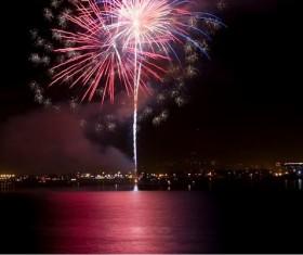 New Year fireworks around the world Stock Photo 03