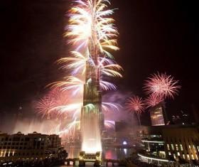 New Year fireworks around the world Stock Photo 08
