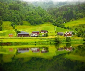 Norwegian countryside HD picture