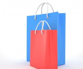 Paper shopping bags Stock Photo 01