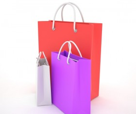 Paper shopping bags Stock Photo 03