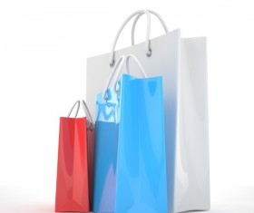 Paper shopping bags Stock Photo 05