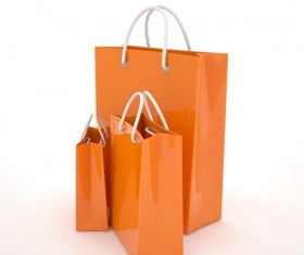 Paper shopping bags Stock Photo 06