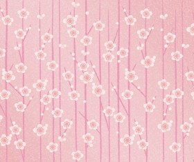 Pink floral background HD picture