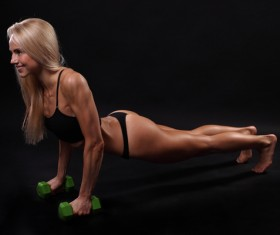 Push-ups Fitness for Women HD picture