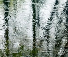 Rain on the road Stock Photo 07