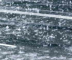 Rain on the road Stock Photo 09